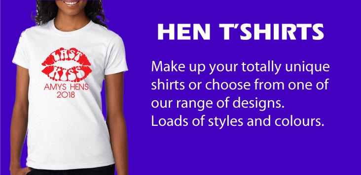 Hen-white-tshirt