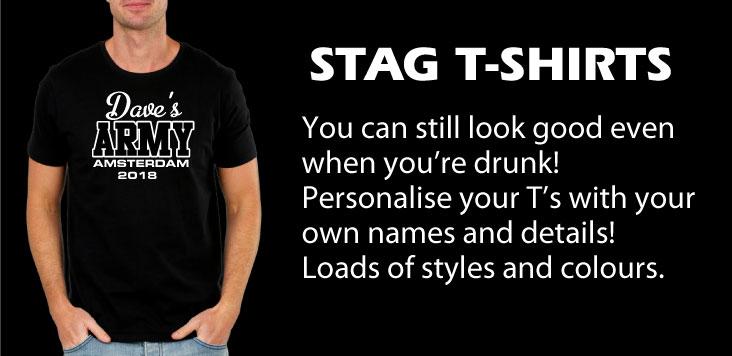 Stag-black-tshirt
